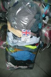 Оптом.  Широкий выбор одежды секонд хэнд из Англии.