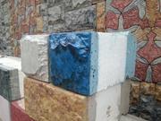 4-хслойные теплоблоки,  технология под мрамор