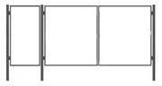 Продаем металлические ворота и калитки