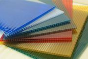 Поликарбонат цветной и прозрачный от производителя