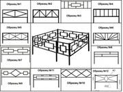 Ритуальные оградки от производителя