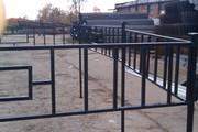 Продам металлические ритуальные ограды