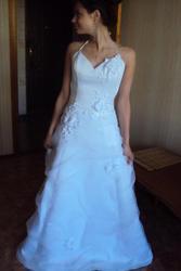 Продаю элегантное лёгкое свадебное платье.