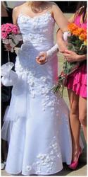 Продам свадебное платье (рыбка) + сумочка в подарок